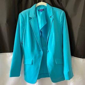 Sky blue blazer by Twiggy London